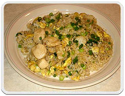 Fish Fried Rice, Fish Fried Rice cuisine, Fish Fried Rice Recipe, Fish Fried Rice East India cuisine, Fish Fried Rice