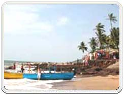 Anjuna Beach, Anjuna Beach tours, Visit Anjuna Beach of Goa, Travel to Anjuna Beach, Beaches and Lakes of Goa