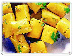 Khandvi recipe of khandvi how to make the recipe of khandvi khandvi khandvi cuisine khandvi recipe khandvi west india cuisine khandvi gujarati dishes forumfinder Gallery