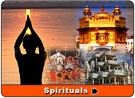 Spirituals Places of India, India religious tour, Temple tour of India, Religious places of India, about famous temples and churches of India, Famous Spirituals Places in India
