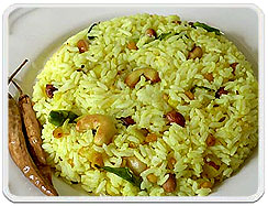 Lemon Rice, Lemon Rice cuisine, Lemon Rice Recipe, Lemon Rice South India cuisine, Lemon Rice Dishes of Tamilnadu